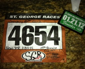 St. George Half Marathon - Ironman Training Week 12