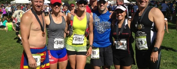RACE REPORT:  St. George Marathon 2012