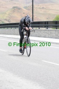 Friend Rory Duckworth on the Boise bike 2012......In a wetsuit :)