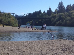 Johnson Beach, Guerneville, California