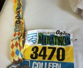 Lessons from a Bad Race - Ogden Marathon - Marathon Challenge #4