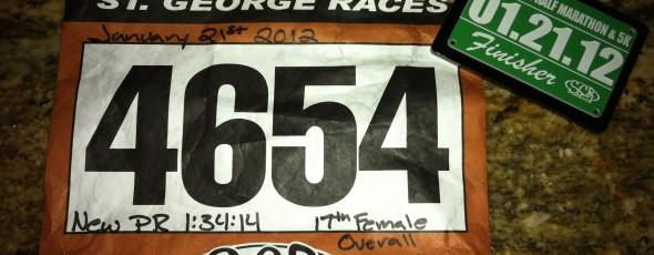 St. George Half Marathon - Ironman Training Week 12