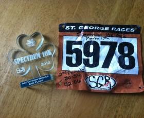 RACE REPORT - St. Paddy's Day Spectrum 10k